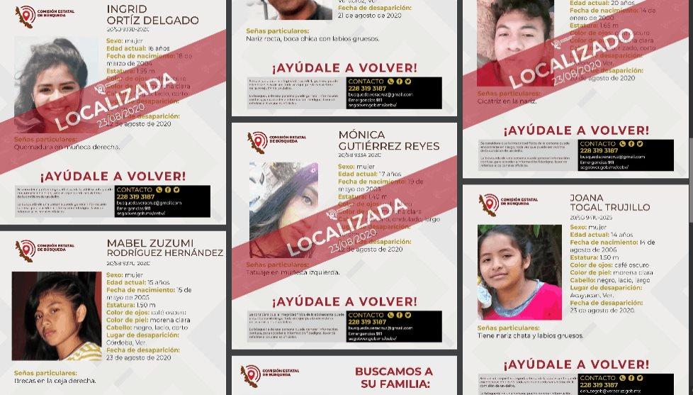 Preocupa aumento en desapariciones de menores en Veracruz: Solecito
