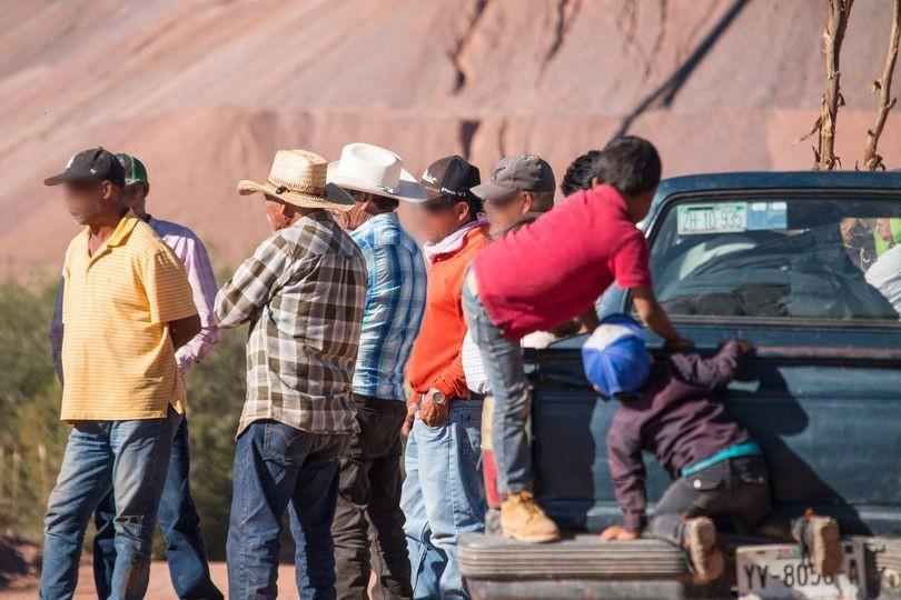 A un mes de plantón, resisten en bloqueo contra mina de Slim (Zacatecas)