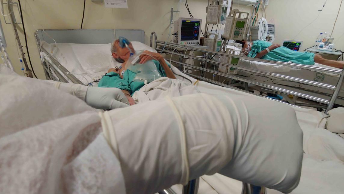 A pesar del semáforo amarillo en Oaxaca, hospitales COVID se reportan al tope de su capacidad
