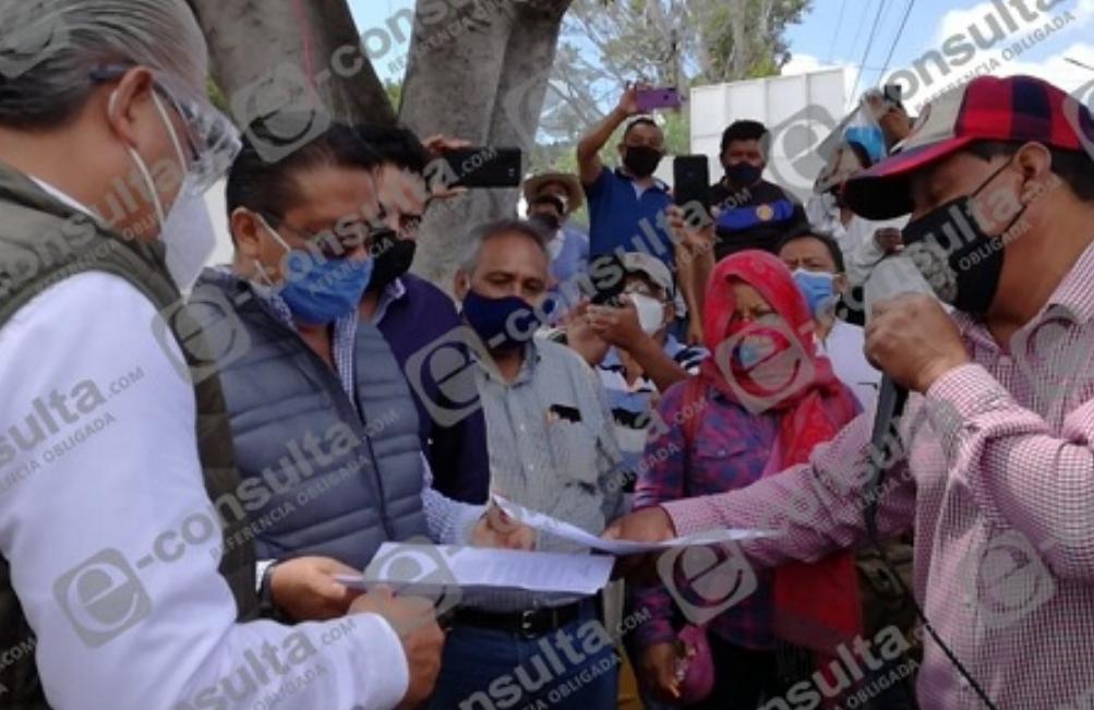 Se unen campesinos de Oaxaca y Puebla contra bombas antigranizo