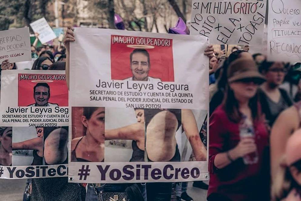 Justicia para Gio, exigen mujeres y defensoras en San Luis Potosí