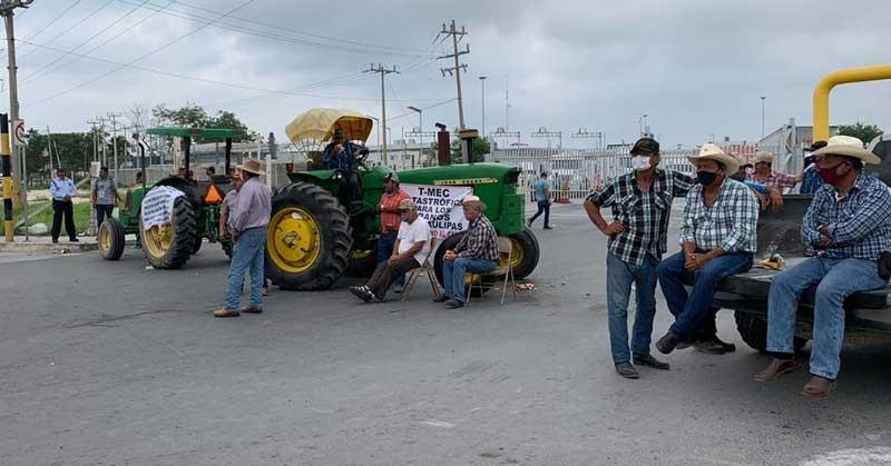 Dejan sin respuesta a productores de Tamaulipas