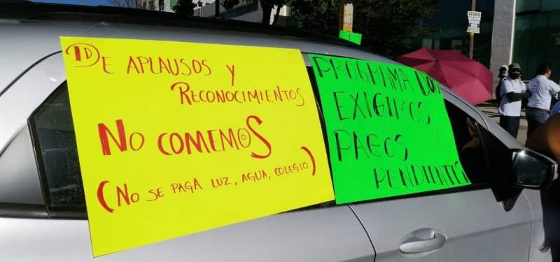 Otra vez Murat incumple su palabra y trabajadores de Salud realizan paros en Tuxtepec, Istmo y Costa  (Oaxaca)