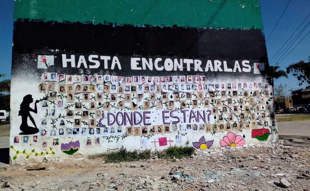 ¿DÓNDE ESTÁN?: EL MURAL DE IMPUNIDAD EN NEZAHUALCÓYOTL (Estado de México)