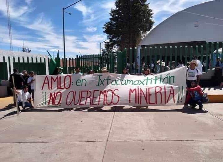 Habitantes se resisten a minería que extraerá oro y plata en Puebla