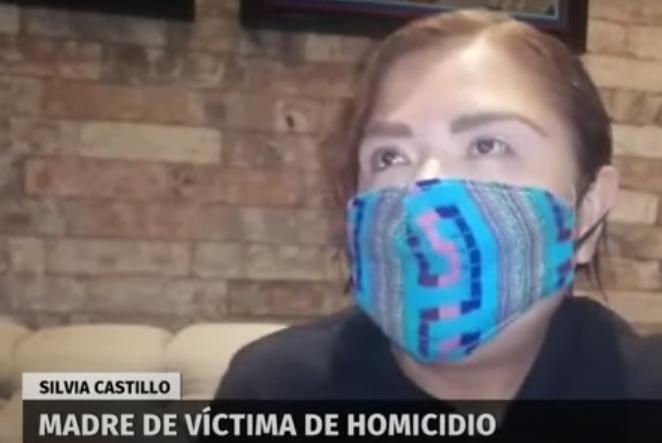 Silvia Castillo, la madre que no dejará de gritar por el asesinato de su hijo en SLP