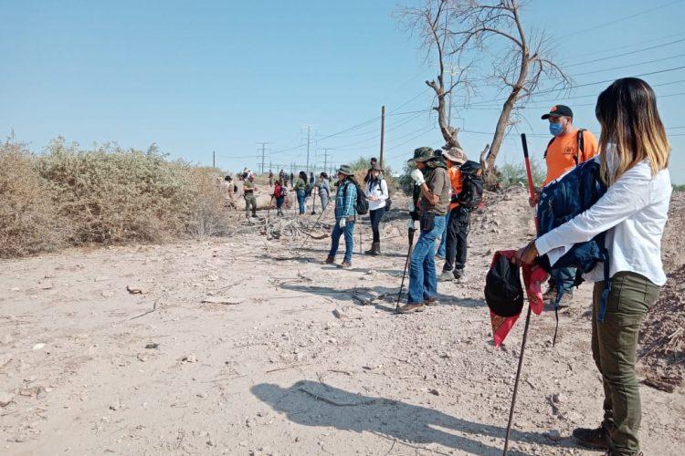 Colectivos y Comisión de Búsqueda localizan más de 10 restos óseos cerca del Tulichek (Baja California)