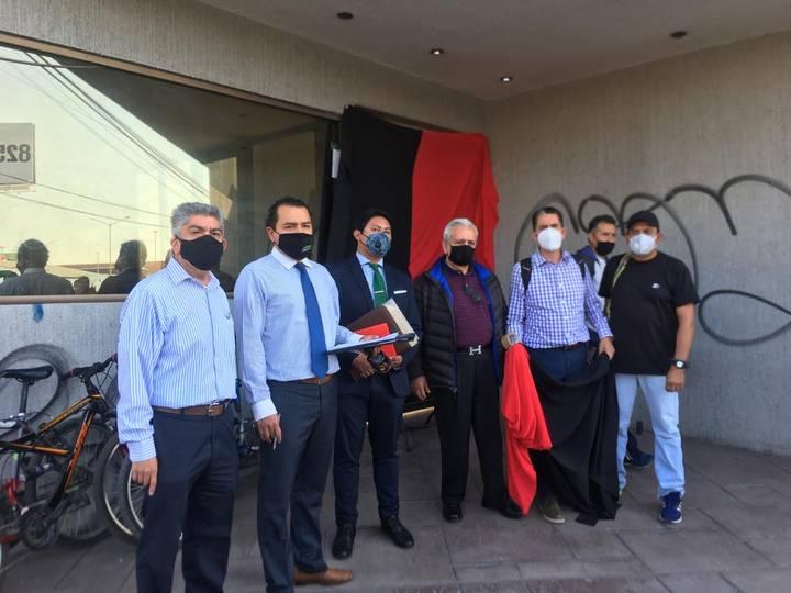 Trabajadores del Canal 13 de San Luis Potosí estallan huelga por adeudo salarial