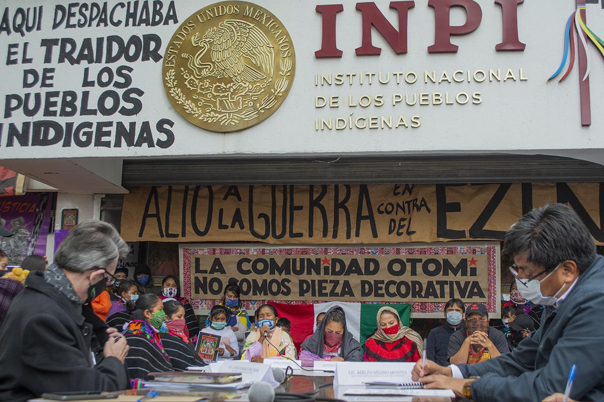 Reclamos de la Comunidad Indígena Otomí: El diálogo con el INPI (Ciudad de México)