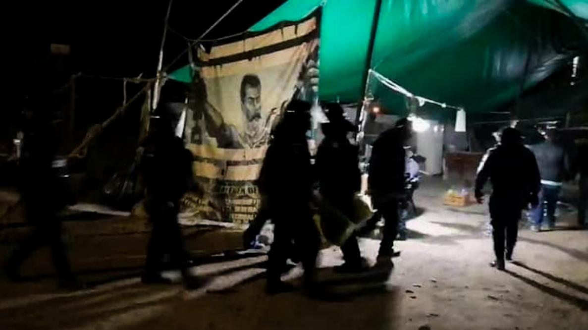 Guardia Nacional desaloja plantón de ejidatarios en Cuautla