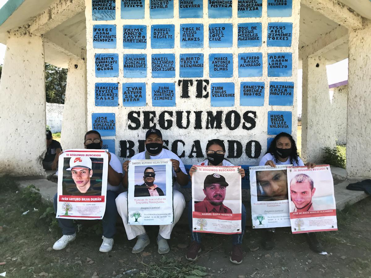 """""""Estamos haciendo lo que sea por encontrar a nuestra sangre"""" (Guanajuato)"""