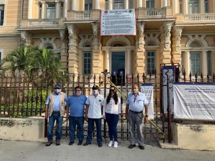 Cierran museos y zonas arqueológicas de Yucatán por paro de labores de trabajadores del INAH; exigen pago de prestaciones
