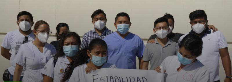 100 trabajadores de la salud en Q.Roo son despedidos por INSABI