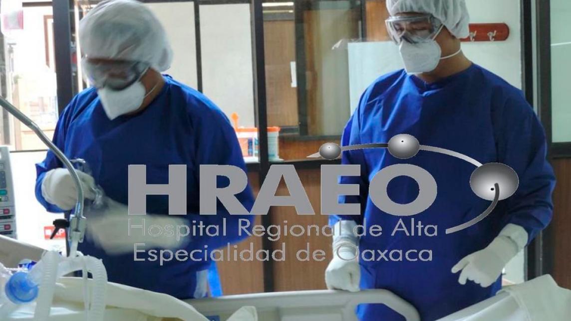 COVID-19 satura al Hospital de Alta Especialidad en Oaxaca