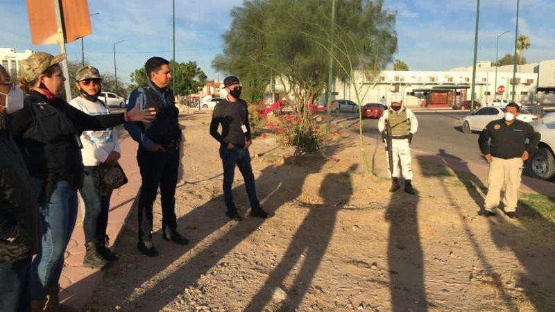 Madre buscadora localiza a su hijo en cementerio clandestino de Sonora