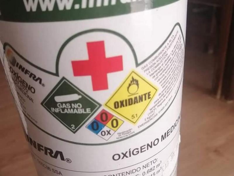 Encarecen y escasean tanques de oxígeno en el Edomex