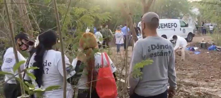 Agredieron a balazos a un grupo de madres que busca a sus hijos desaparecidos (Sinaloa)