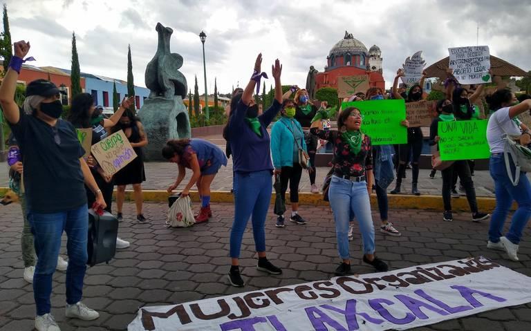 ¡Aborto legal ya!, piden colectivos de Tlaxcala