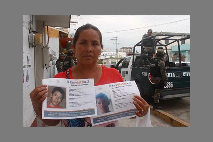 Memoria y verdad Plagian a madre de desaparecidos en Tierra Blanca, Veracruz