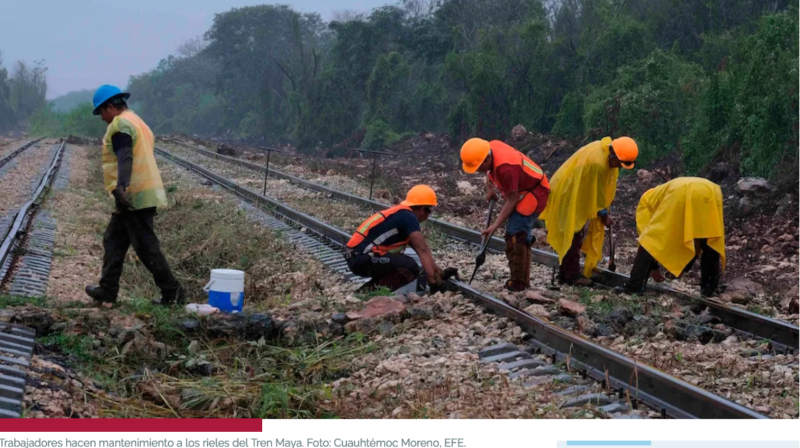Pueblos originarios del Sur de México temen que Tren Maya genere explotación medioambiental y laboral