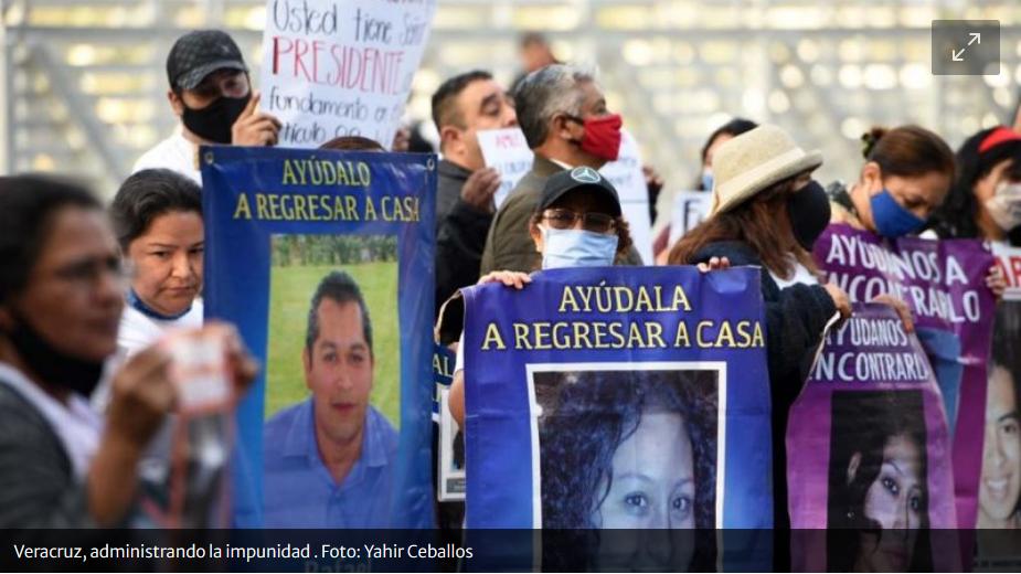 Cuitláhuac García, un gobernador que sólo administra la impunidad (Veracruz)