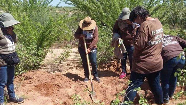 Líder de colectivo encontró los restos que serían de su hijo desaparecido desde mayo del 2019 (Sinaloa)