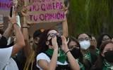Feministas en contra del TET por exonerar a Evaristo Hernández (Tabasco)