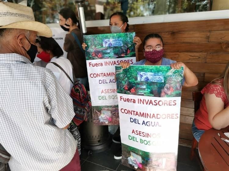Despojo de tierras en Veracruz por parte de la organización paramilitar CIOAC
