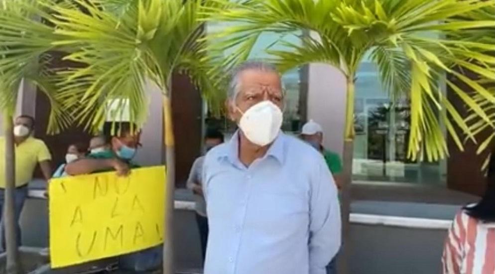 Continuarán las protestas de jubilados por pagos de pensiones con UMA's (Colima)