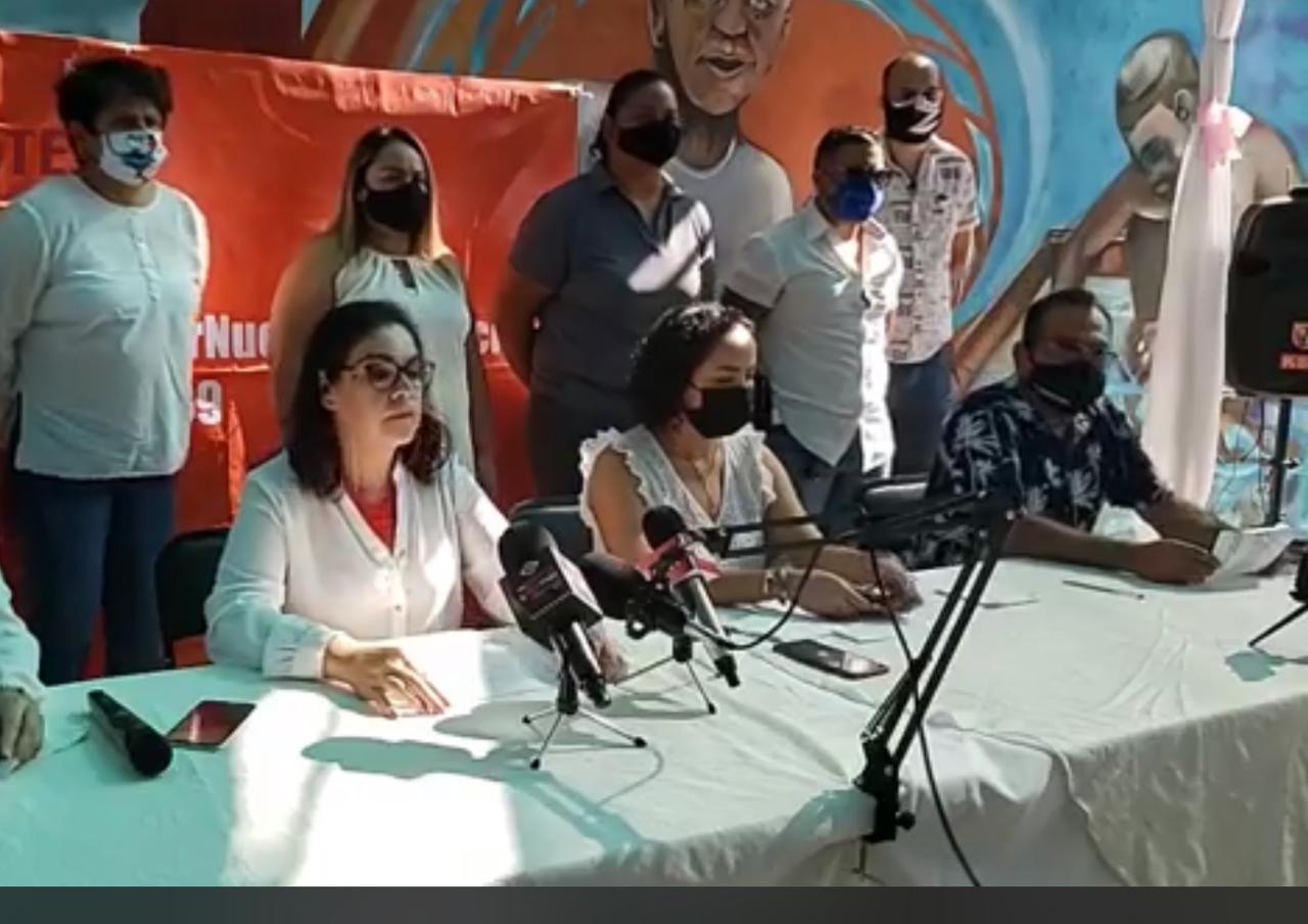 Denuncia disidencia del SNTE 39 deficiencias en Ley de Pensiones y servicio médico (Colima)