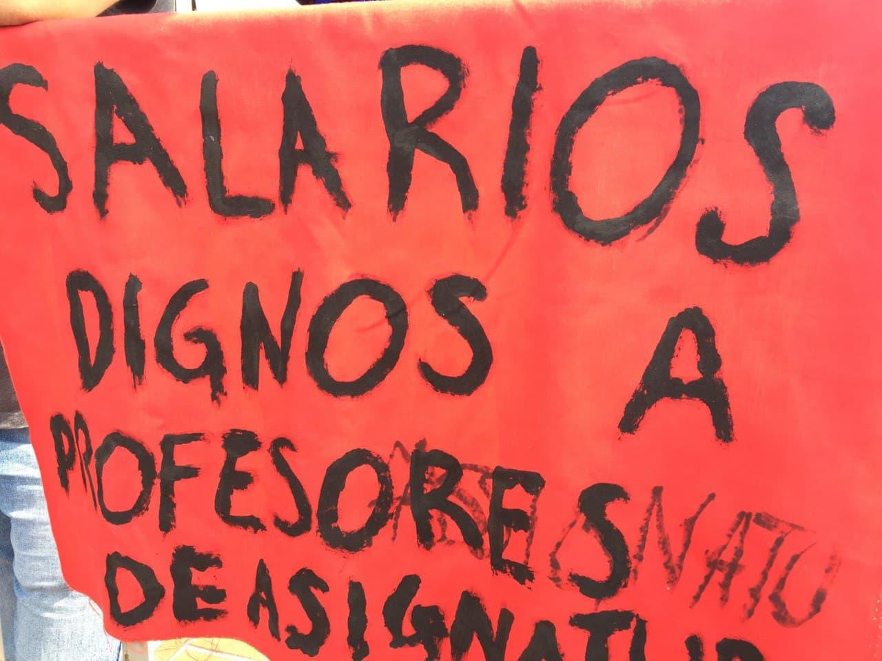 El movimiento de personal docente de la UNAM toma mayor fuerza.