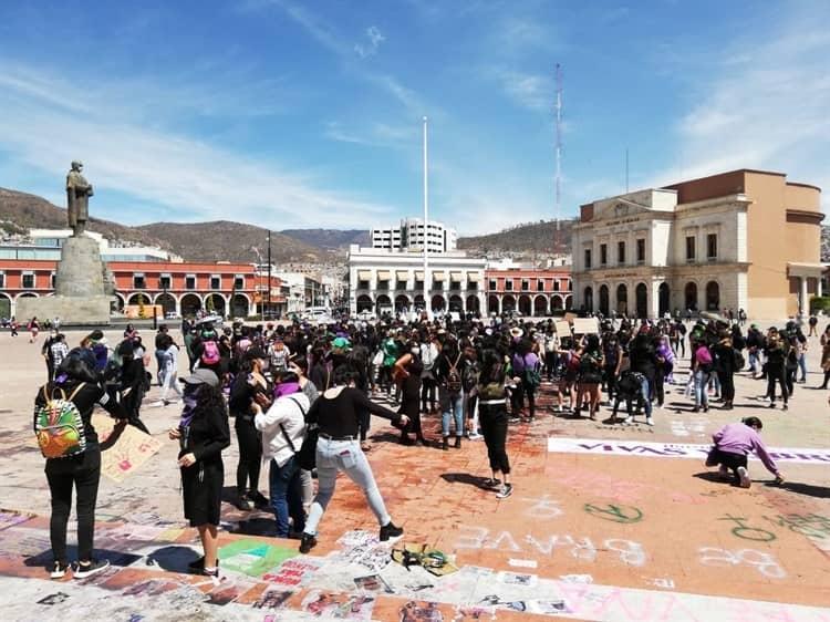 """""""Nos quitaron tanto que nos quitaron el miedo""""; marchan en Pachuca (Hidalgo)"""
