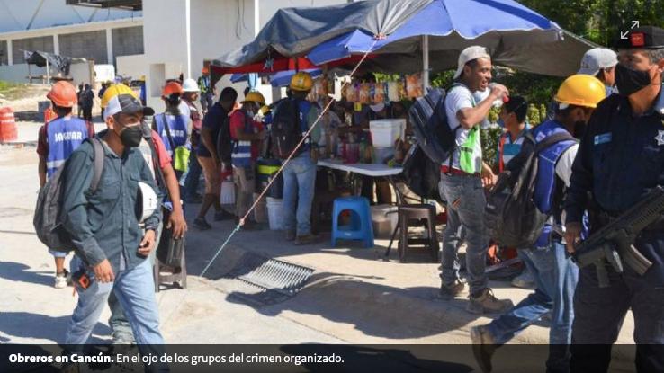 Familias buscan a obreros desaparecidos en Cancún (Quintana Roo)