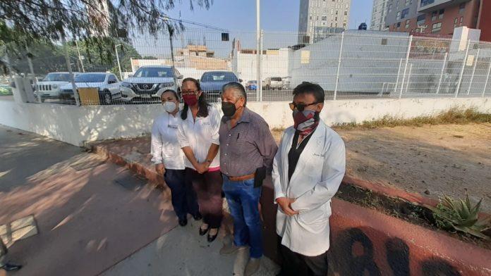 Movimiento del Sector Salud no Vacunado en Jalisco exige al Gobierno federal vacunación al 100%