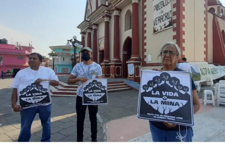 Piden activistas ambientalistas que Veracruz sea declarado un estado libre de minería tóxica