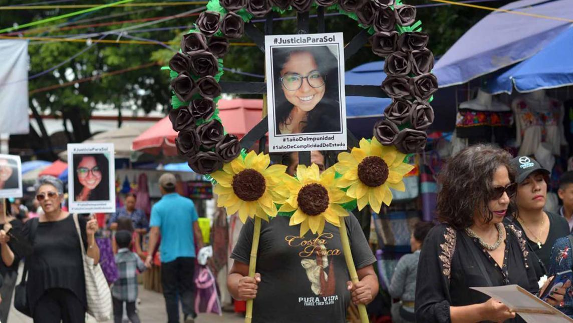 Caso de feminicidio de oaxaqueña María del Sol podría llevarse a la ONU ante dilación en la investigación (Oaxaca)