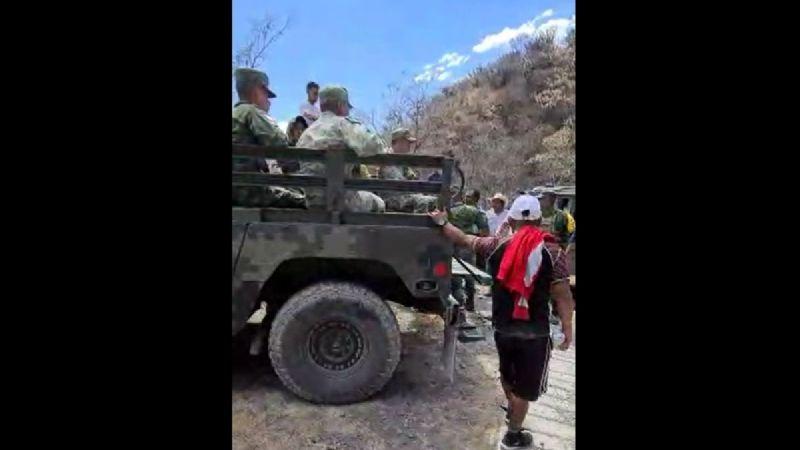 Video muestra interrogatorio a militares retenidos tras muerte de guatemalteco