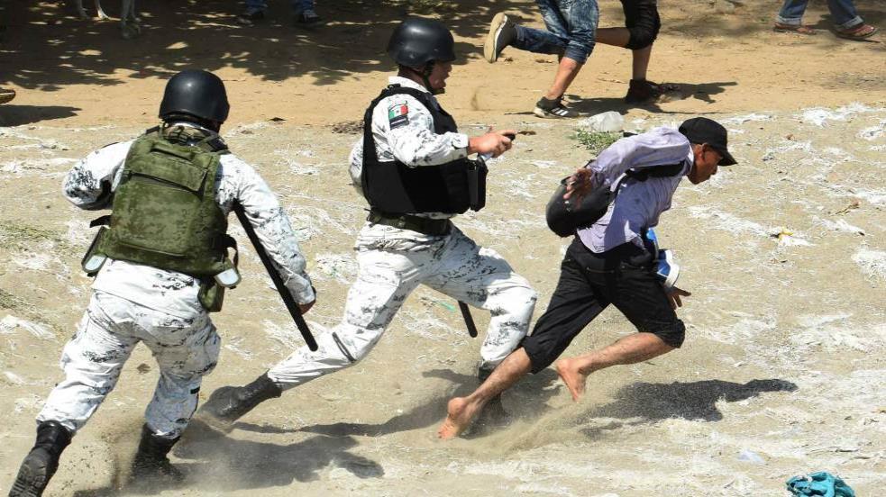 Ejército suma 5 mil 500 quejas por abusos a migrantes ante Derechos Humanos