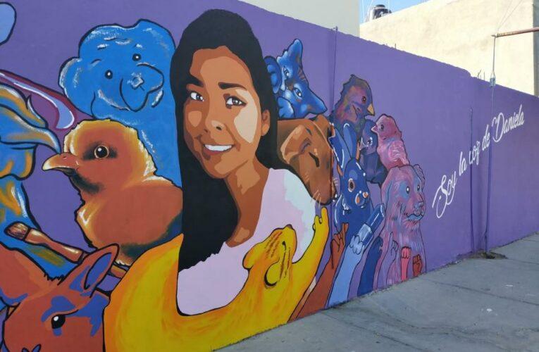 Con murales visibilizan a mujeres víctimas de feminicidios (Baja California Sur)