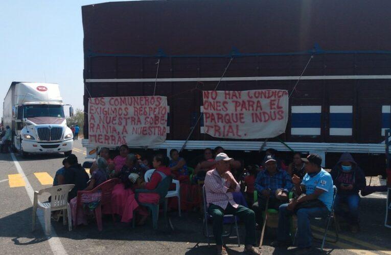 Istmo: Comuneros de San Blas rechazan parque industrial del Corredor Interoceánico (Oaxaca)