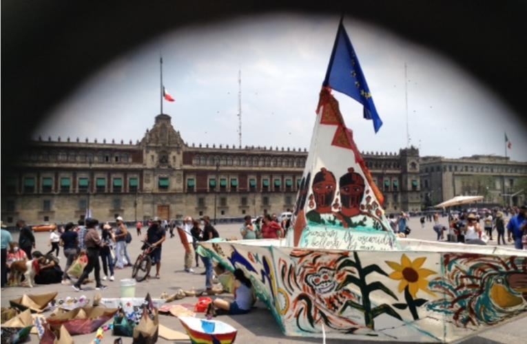 Saludan en la Ciudad de México el inicio de la travesía marítima zapatista a Europa