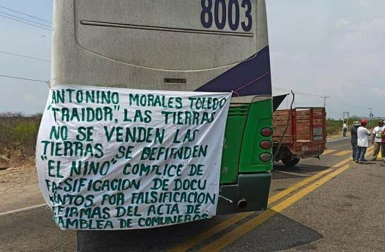 """Comuneros de Puente Madera rechazan consulta e """"imposición"""" de Parque Industrial del Corredor Interoceánico (Oaxaca)"""