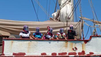 Cartas náuticas II: Escuadrón 421 aborda el navío La Montaña