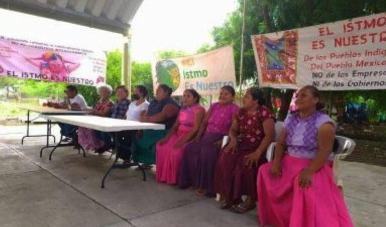 Comunidades indígenas expresan rechazo al corredor interoceánico y todos los megaproyectos de la 4T (Oaxaca)