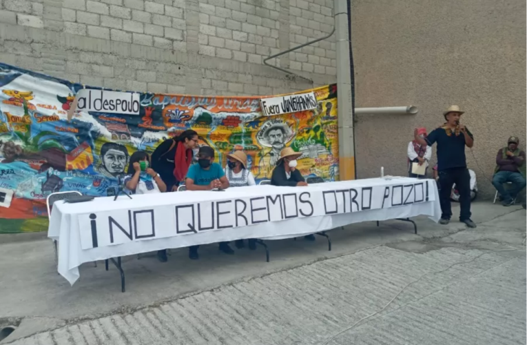 Vecinos defienden su agua contra la empresa Junghanns en San Bernardino Tlaxcalancingo (Puebla)