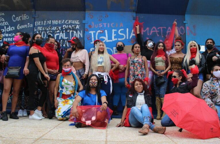 Trabajadoras sexuales en Ciudad de México organizadas para reclamar derechos