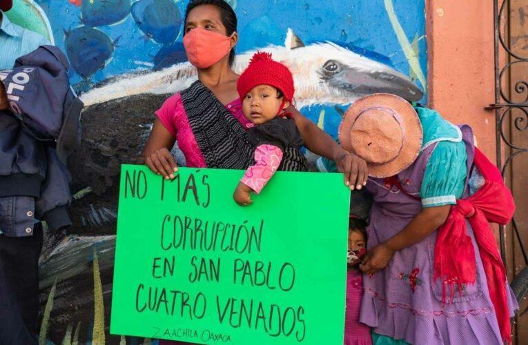Gobierno de Oaxaca prepara represión contra indígenas zapotecas
