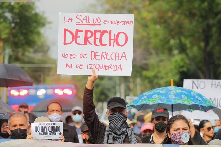 Falta de medicamentos, un crimen de lesa humanidad: pacientes renales (Jalisco)