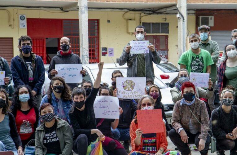 Numerosas ciudades europeas muestran su apoyo a la 'Gira por la vida' Zapatista