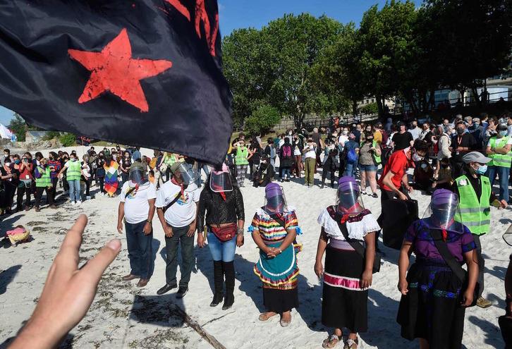 Más de 700 organizaciones piden a París que garantice la entrada de la delegación zapatista